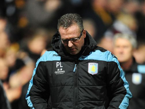 Paul Lambert is under increasing pressure