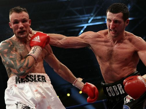 Kessler and Froch will meet at the end of May