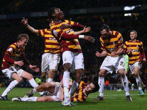 Bradford City: Hope to finish the job at Aston Villa