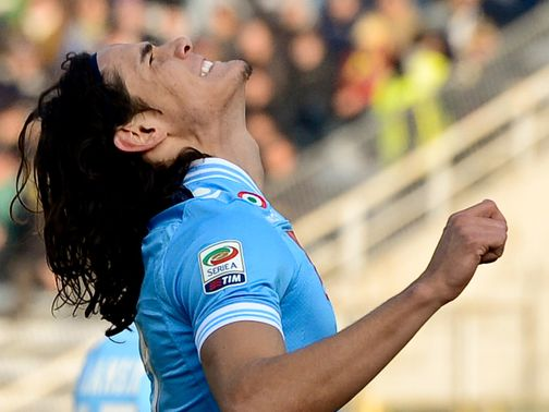 Edinson Cavani: Late winner for Napoli