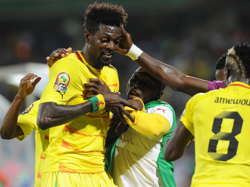 Emmanuel Adebayor: Flew home from Togo duty