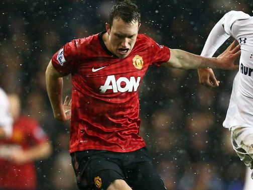 Phil Jones: Played in midfield at Tottenham