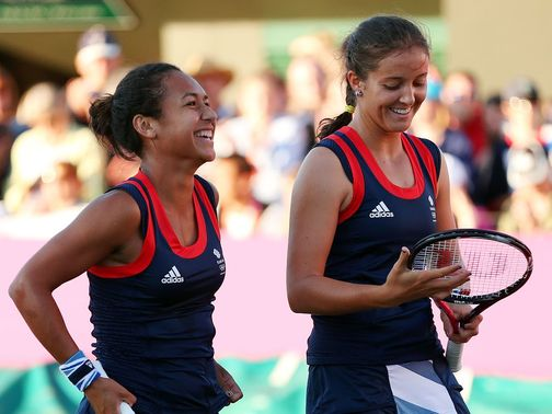 Heather Watson and Laura Robson: Brit hopes in women's draw