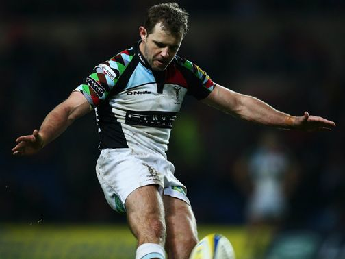 Evans: Can help Harlequins claim victory