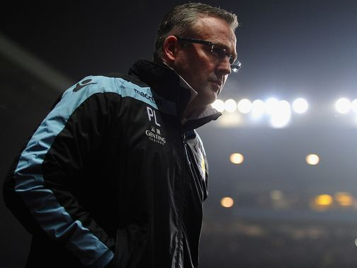 Paul Lambert: Retains Lerner&#39;s backing