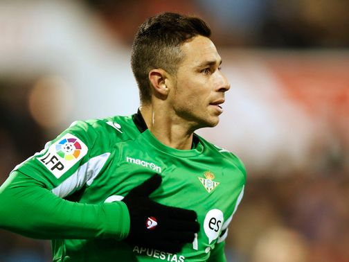 Ruben Castro scored for Real Betis