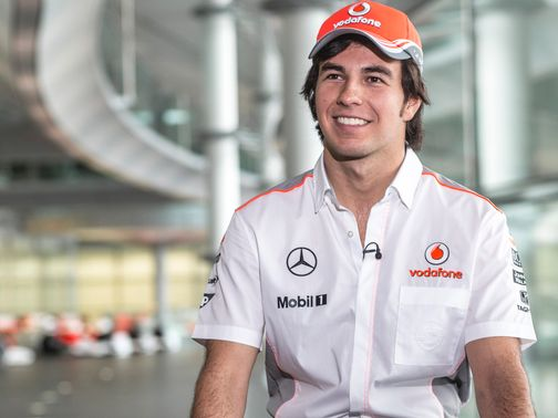 Perez: Excited to be part of McLaren team