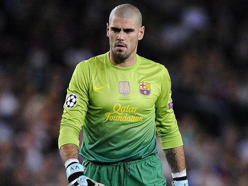 Valdes: Set to end long association with Barca