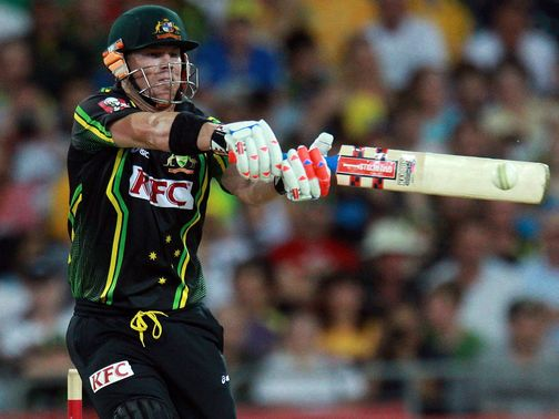 David Warner: Hammered 90 not out in vain for Australia