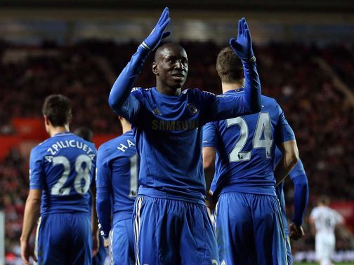 Demba Ba: Dream debut for Chelsea
