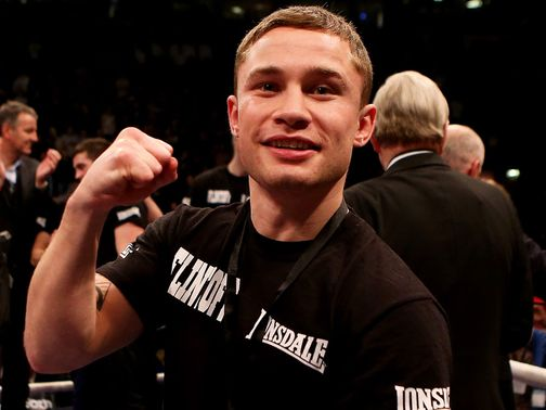 Carl Frampton: Defending an unbeaten record in Belfast next month