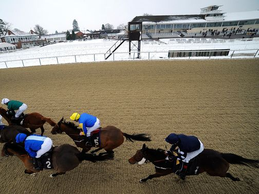 Lingfield: Inspecting with snow now forecast