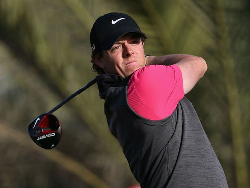 McIlroy: Faces Lowry