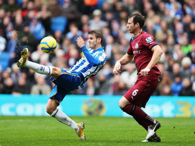 Andrea Orlandi gives Brighton the lead