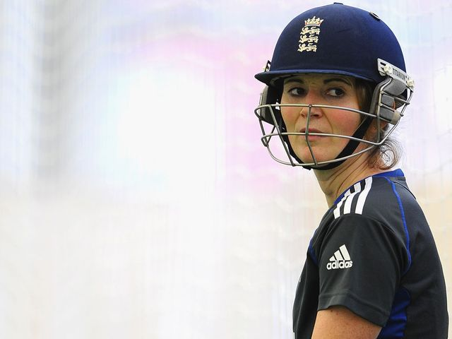 Charlotte Edwards: Stroked a century in England victory