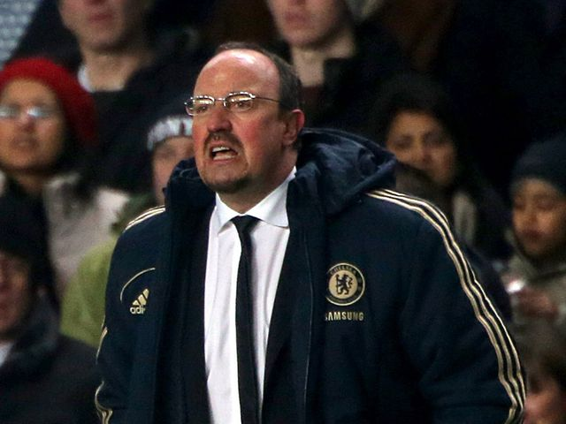 Rafael Benitez saw his side blow a two-goal lead