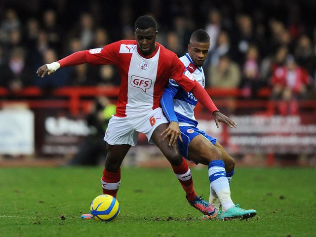 Hope Akpan holds off Garath McCleary