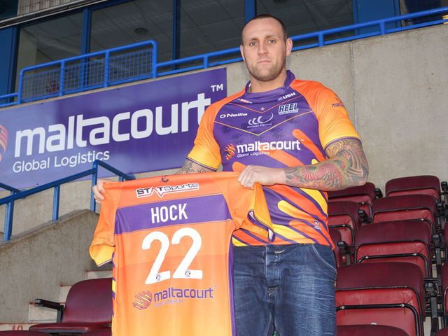 Gareth Hock: In line to make his Widnes debut against St Helens on Sunday