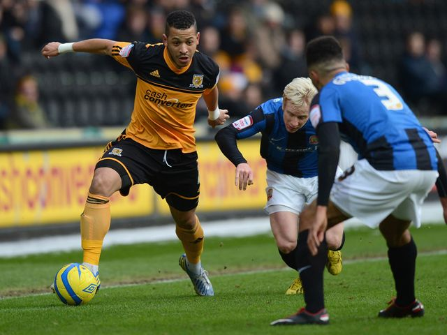 Liam Rosenior gets forward for Hull