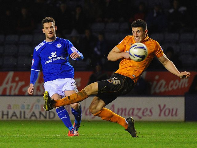 David Nugent scores for Leicester