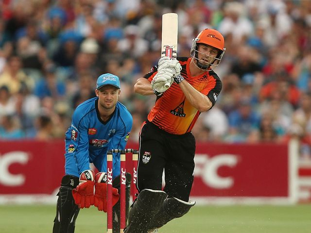 Shaun Marsh: top scored for the Scorchers with 79 from 60 deliveries