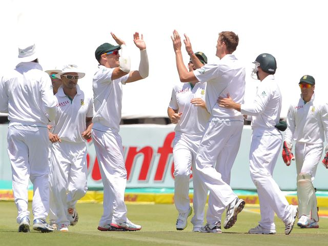 South Africa secured victory on the third day