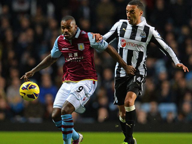 Darren Bent holds off James Perch
