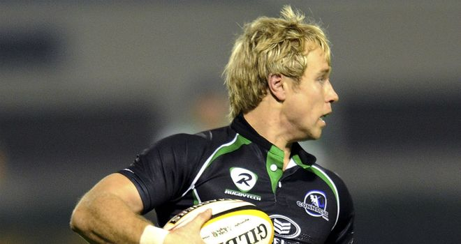 Fionn Carr: Has agreed to rejoin Connacht