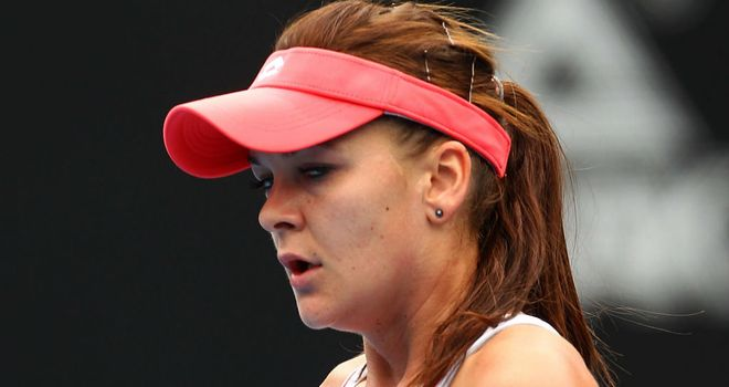 Agnieszka Radwanska: Claimed a seventh straight win