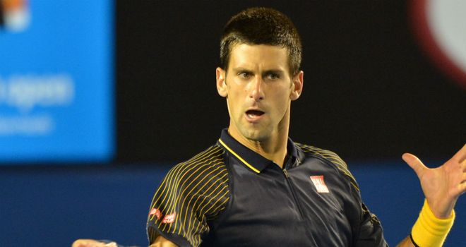 Novak Djokovic: In great form in Melbourne