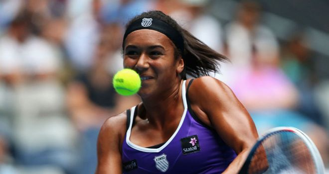 Heather Watson: Let slip a 5-2 lead in the deciding set before taking it in a tie-break