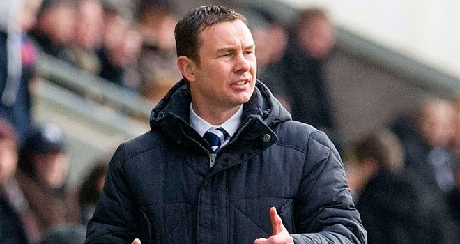 Derek Adams: Happy with his team&#39;s display