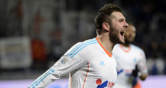 Andre-Pierre Gignac celebrates his winner