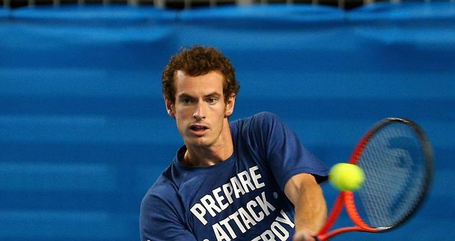 Andy Murray: Chance to end his winless run against Roger Federer in Grand Slam tournaments on Friday
