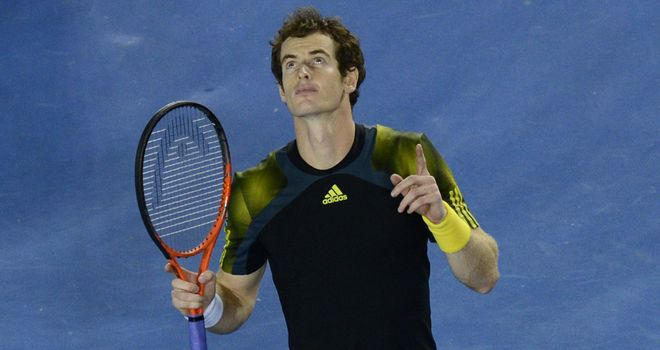 Andy Murray: Has had to settle for the runner-up spot three times