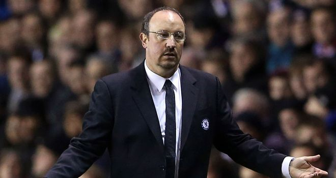 Chelsea boss Rafa Benitez remains positive despite a poor run of results