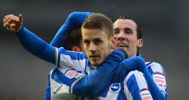 Andrea Orlandi: On target in Brighton's win at Cardiff