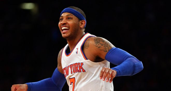 Carmelo Anthony: Will get the chance to upstage LeBron James on Sunday
