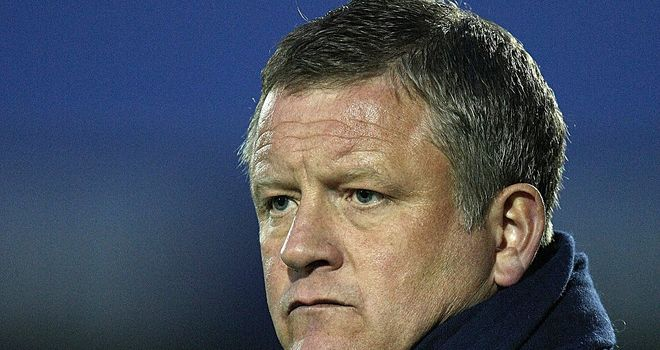 Chris Wilder: Feels they lack confidence on home soil