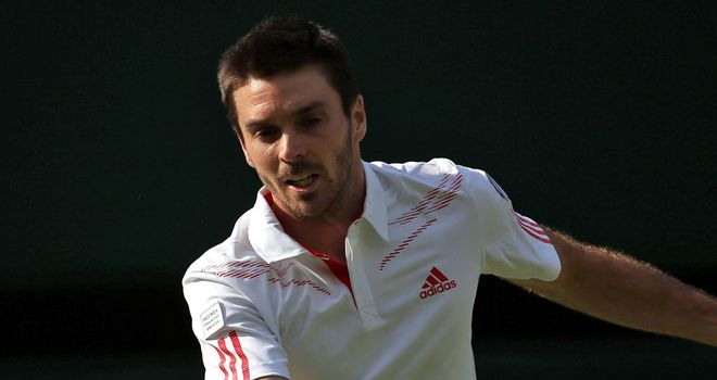 Colin Fleming: through to the doubles final in the Heineken Open in Auckland