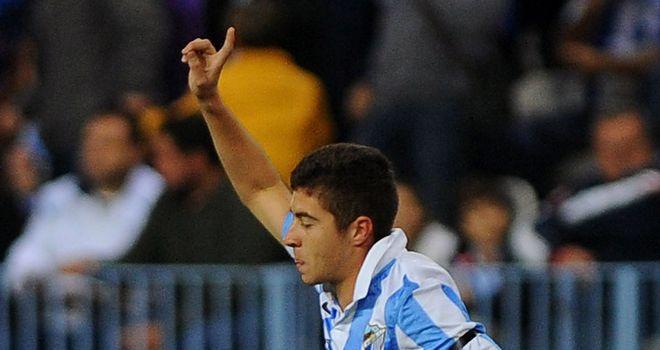 Francisco Portillo: Netted for Malaga