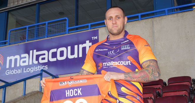 Gareth Hock: Forward close to Widnes Vikings debut