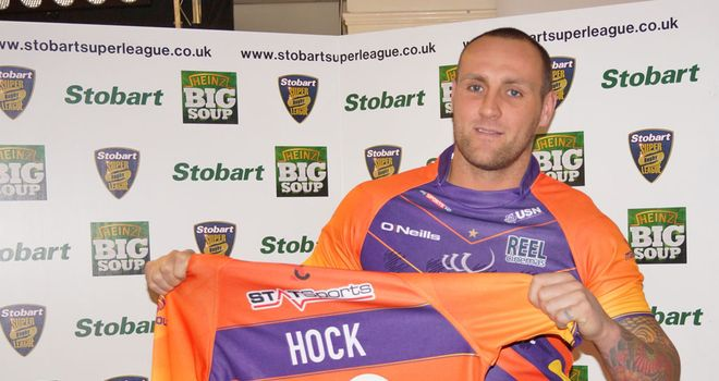 Gareth Hock: late arrival to Widnes' squad (photo courtesy of Kim Pullman)