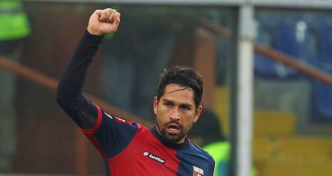 Marco Borriello had given Siena the lead