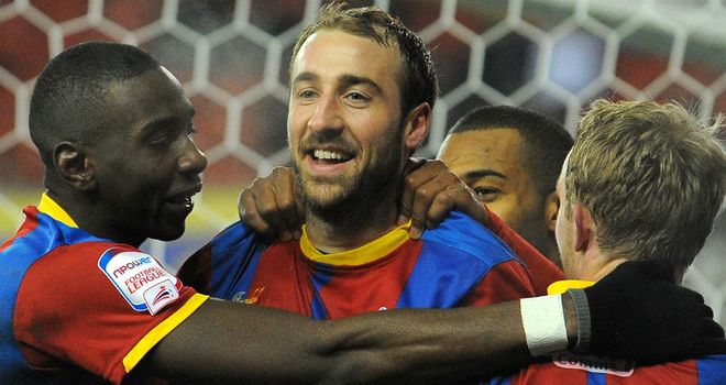 Glenn Murray: Took his tally to 28 with Palace's opening goal