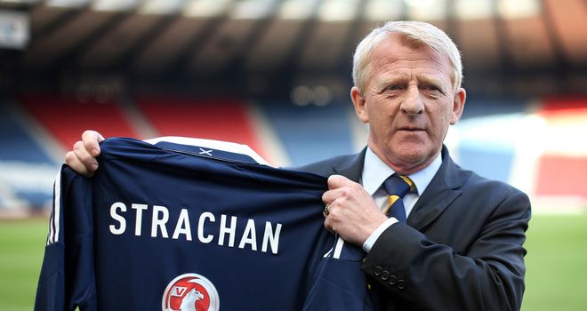 Gordon Strachan: New Scotland boss