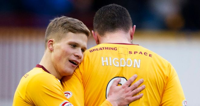 Henrik Ojamaa: Banned for Motherwell against Ross County