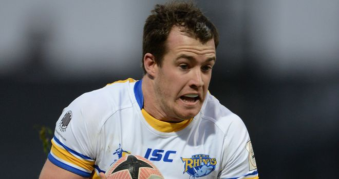 Joe Vickery: Keeping his options open for the 2014 Super League season