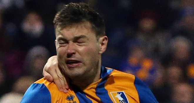 John Dempster: Red-carded in the second half