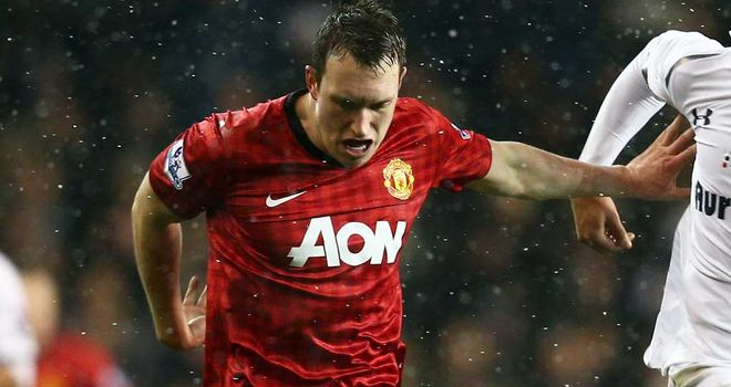 Phil Jones: Praised by Manchester United manager Sir Alex Ferguson